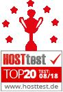 Hosttest - Webhoster<br><br>Vergleich