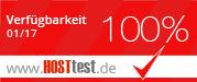 Webspace Vergleich von hosttest.de