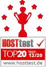 Webhosting & Homepage Baukasten Vergleich auf hosttest.de