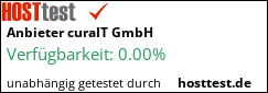Webhostertest auf hosttest.de