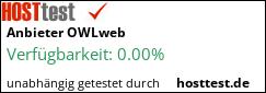 Webhostertest auf hosttest.de